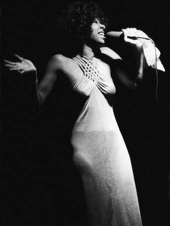 Famed Vocalist Natalie Cole, Chicago's High Chaparral, September 1975