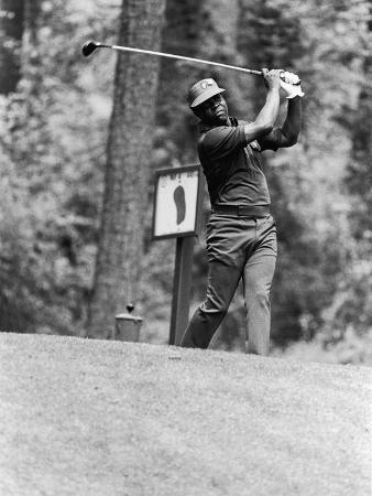 Athlete Lee Elder, 1978