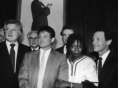 Whoopi Goldberg and Her Comic Relief Cohorts, March 12, 1986