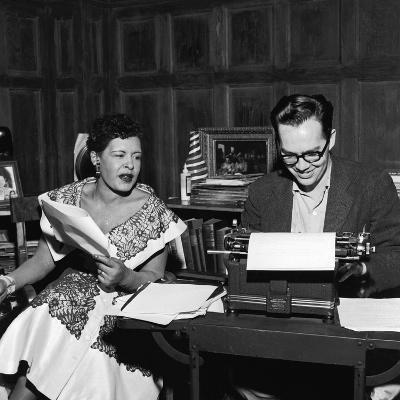 Jazz Singer Billie Holiday, William Dufty L