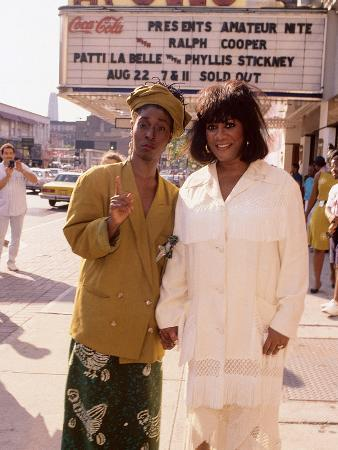 Patti Labelle and Phyllis Stickley Team Up for a Show at New York's Apollo Theater,  Aug 22, 1991