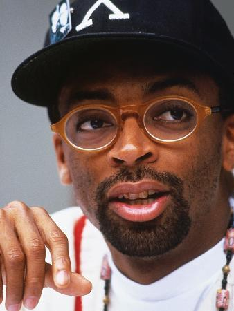 Filmmaker Spike Lee, Press Conference Regarding His New Film on the Life of Malcolm X