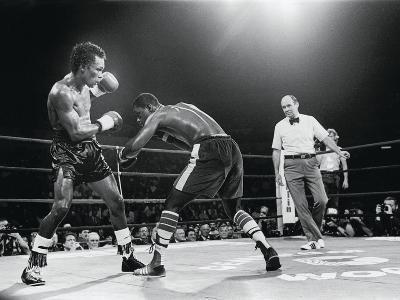 "Sugar Ray Leonard, ""Comeback Fight"" Against Kevin Howard, May 11, 1984"