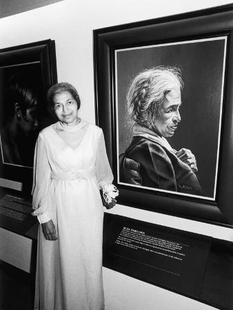 Rosa Parks,   Salute to Black Women in Art, 1978