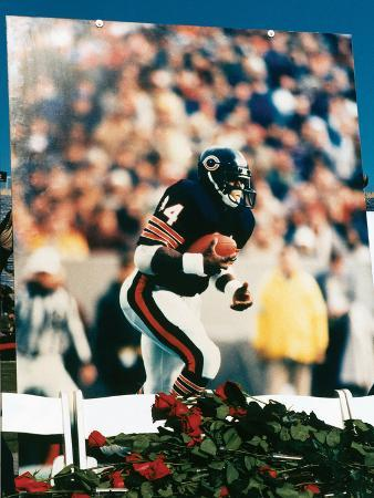 Walter Payton, Memorial Held at Soldier Field Stadium, 1999