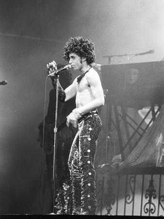 Prince, Shirtless During Concert, 1984