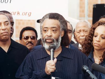 Rev. Al Sharpton Release from the Metropolitan Detention Center in Brooklyn, Ny., 2001