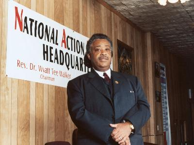 Rev. Al Sharpton, National Action Headquarters, 2001