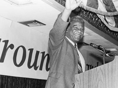 Harold Washington, Waves to Supporters