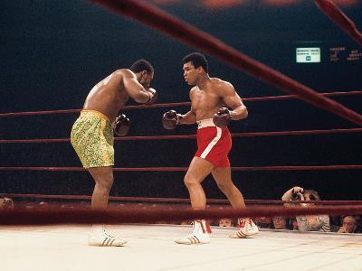 "Muhammad Ali and Joe Frazier, ""Fight of the Year"", March 8, 1971"