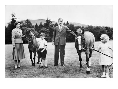 The British Royal Family at Balmoral