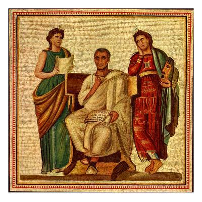Virgil with Clio and Melpomene