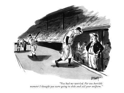 """""""You had me worried. For one horrible moment I thought you were going to s…"""" - New Yorker Cartoon"""