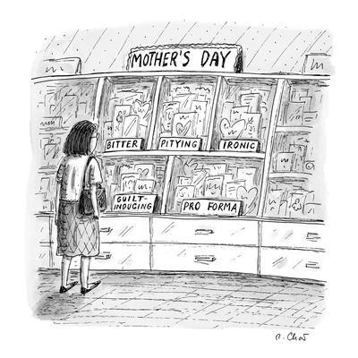 Mother's day cards  - New Yorker Cartoon
