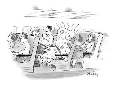 """""""I hate connecting through Roswell."""" - New Yorker Cartoon"""