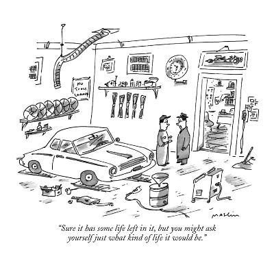 """""""Sure it has some life left in it, but you might ask yourself just what ki…"""" - New Yorker Cartoon"""