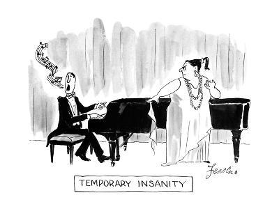 Temporary Insanity - New Yorker Cartoon