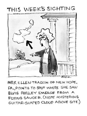 This Week's Sighting - New Yorker Cartoon