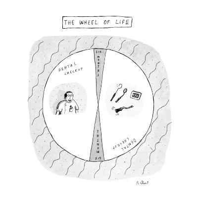 The Wheel of Life - New Yorker Cartoon