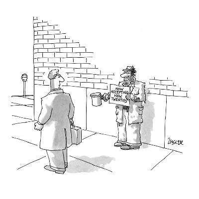 Now Accepting New Twenties - New Yorker Cartoon