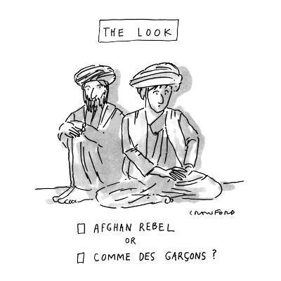 THE LOOK - New Yorker Cartoon