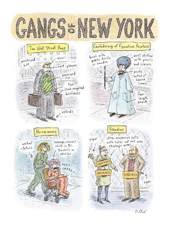Gangs of New York - New Yorker Cartoon