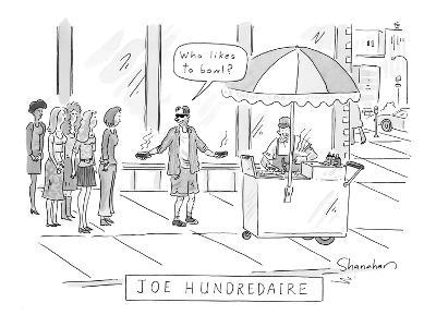 Joe Hundredaire. - New Yorker Cartoon