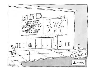 Autumn - New Yorker Cartoon