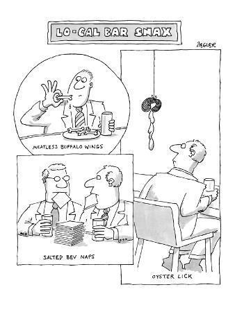 Lo-Cal Bar Snax - New Yorker Cartoon
