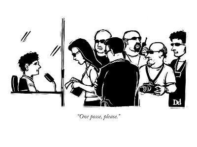 """""""One posse, please."""" - New Yorker Cartoon"""