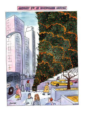 JANUARY 3RD AT ROCKEFELLER CENTER. - New Yorker Cartoon