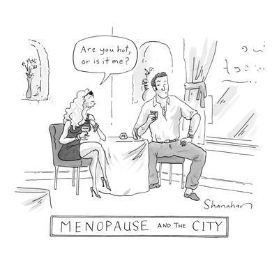 Menopause and the City - New Yorker Cartoon