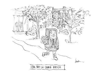 The Not-So-Dumb Brick - Cartoon