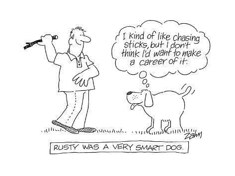 Rusty Was A Very Smart Dog