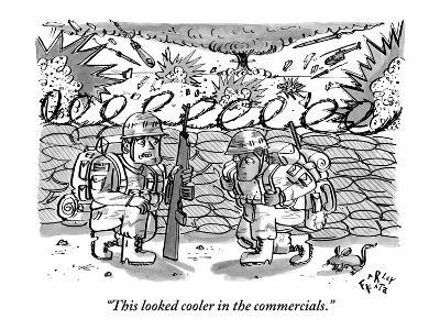 """This looked cooler in the commercials."" - New Yorker Cartoon"