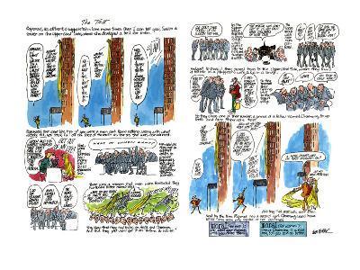 The Test - New Yorker Cartoon