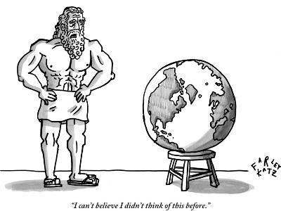 """""""I can't believe I didn't think of this before."""" - New Yorker Cartoon"""