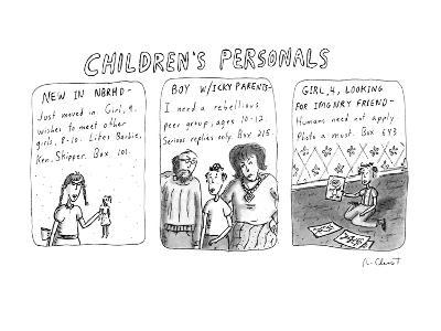 Children's Personals' - New Yorker Cartoon