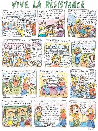 Vive La Résistance - New Yorker Cartoon