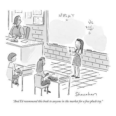 """""""And I'd recommend this book to anyone in the market for a free plush toy.…"""" - New Yorker Cartoon"""