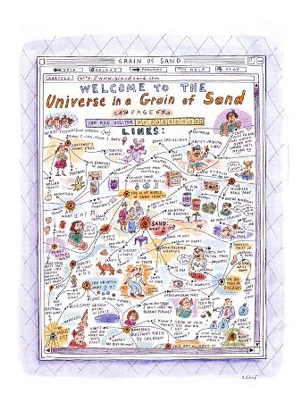 Welcome to The Universe in a Grain of Sand' - New Yorker Cartoon