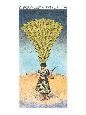 Carmen Militia - New Yorker Cartoon