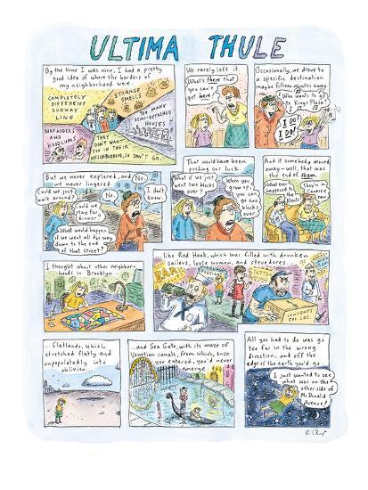 Image result for roz chast ultima thule