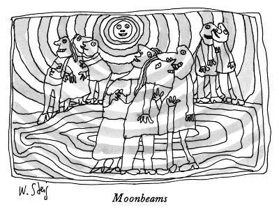 Moonbeams - New Yorker Cartoon