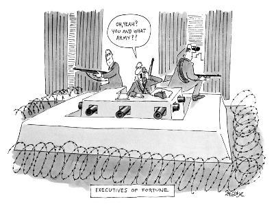Executives of Fortune - New Yorker Cartoon
