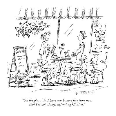 """On the plus side, I have much more free time now that I'm not always defe…"" - New Yorker Cartoon"