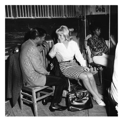 Sammy Davis Jr., May Britt