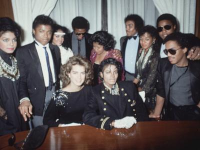 Michael Jackson; Brooke Shields
