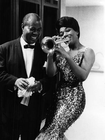 Louis Armstrong and Jewel Brown