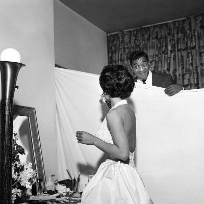 Eartha Kitt and Sammy Davis Jr. - 1954